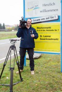 Unterstützung TVüberregional oliver doell von geka gisbert kuehner journalist tvueberregional st-leon-lokal kraichgau-lokal