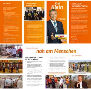 Karl Klein CDU ist Sieger - Wahlergebnisse im Gebiet von TVüberregional