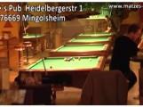 Matzes Pub Mingolsheim: Billard, Dart, Gewinnspielautomaten, Chillbar