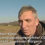Karl Klein CDU kämpft weiterhin um das Wohl der Bürger – Zusammenfassung der TV Berichte für den wiedergewählten Landtagsabgeordneten Karl Klein CDU