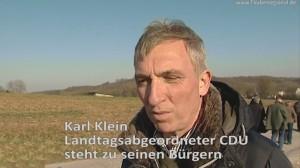 Karl Klein CDU kämpft weiterhin um das Wohl der Bürger - Zusammenfassung der TV Berichte für den wiedergewählten Landtagsabgeordneten Karl Klein CDU