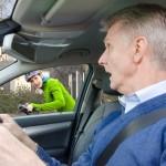 Heidelberg – Aktion plus5 – Achtung – Schulterblick – Deutlicher Anstieg der Abbiegeunfälle im Radverkehr Radler unter den Berufspendlern und Studenten fahren vorsichtiger