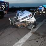 St. Leon-Rot – Schwerer Verkehrsunfall auf der Autobahn 6