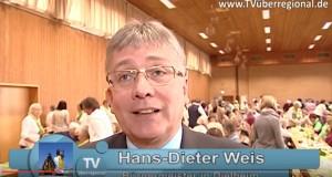 500 Landfrauen und mehr in Dielheim im Kraichgau - Schwester Teresa und Politiker zu Gast. Landfrauentag - eine gelungene Veranstaltung Bürgermeister hans dieter weis dielheim kraichgau mannaberghalle