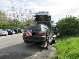 Hockenheim - A 61 - Verkehrsunsicheres Lkw-Anhängergespann aus dem Verkehr gezogen - Polizeimeldung - TVüberregional