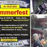 XXL Bikers St Leon – 2 Tage Bikertreffen – Rock Openair – Mitternachtsshow – Party – 01.07. und am 02.07.2016