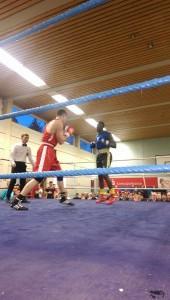 Box Arena Walldorf - Boxkampfergenisse vom Baden-Württemberg Cup in Rottweil Yancuba Fatayo der Superschwergewichtler der Box Arena Walldorf (BAW) 01