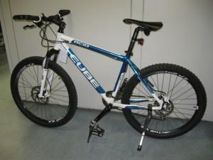 Mountain-Bike der Marke CUBE Walldorf - Fahrraddieb zeigt Reue