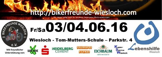 Sponsoren von rocking and rolling wieslocher Bikerfreunde