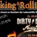 Wiesloch – Rocking and Rolling II – BIKERTREFFEN – 2 TAGE HARDROCK – Benefiz Veranstaltung für die LEBENSHILFE WIESLOCH e.V. – 03.06 + 04.06.2016