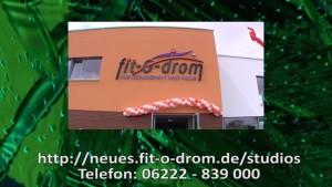 FIT-O-DROM WALLDORF WIESLOCH – NEUERÖFFNUNG – RUNDGANG MIT TV KAMERA