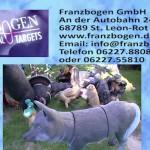 Franzbogen GmbH - St Leon Rot - 3 D Tiere - Bogenschützen Bedarf