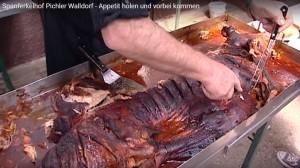 WALLDORF - LETZTES SPANFERKELHOFFEST bei PICHLER