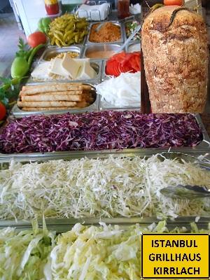 Kirrlach Kirrlach Döner Döner heimlieferservice Istanbul Grillhaus Pizzeria bei Tankstelle