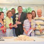 Ladenburger Stadtmeisterschaften im Spargelschälen 2016