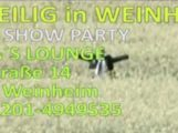 UNHEILIG am 31.07.2016 Weinheim – AFTER SHOW PARTY in ELIA´s LOUNGE