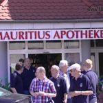 25 Jahre Mauritius Apotheke Michael Pissot und 20 Jahre Fahrrad Schanzenbach