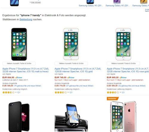 IPhone 7 im Blitzangebot für 100 Euro schnell zugreifen