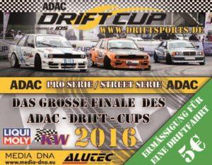 ADAC Drift Cup Finale Hockenheim 2016
