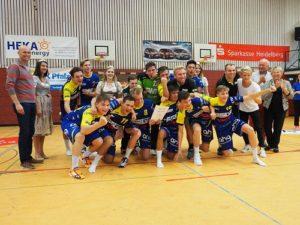 SG Pforzheim und TSG Friesenheim setzen sich in Wiesloch gegen gesetzte Favoriten durch  Handball Wiesloch Walldorf