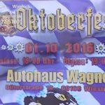WIESLOCH – Auto Wagner OKTOBERFEST – Ankündigung LADYS DAY NOVEMBER