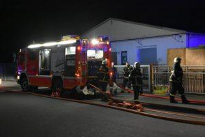 Walldorf - Rhein-Neckar-Kreis - Brand in Verpackungsbetrieb - technischer Defekt in der Elektrik