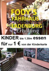 Fodys Fährhaus Ladenburg - Restaurant Ladenburg - Rollstuhl gerecht