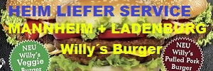 willys burger mannheim, willys burger ladenburg, fodys heimlieferservice, fodys@home, hodys @ home, restaurant ladenburg,