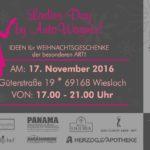 WIESLOCH – LADIEs DAY bei AUTO WAGNER – 17. 11.2016 ab 17 Uhr