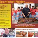 Spanferkelhof Pichler 2017 Hoffest Termine – jederzeit SPANFERKEL HEIMSERVICE in Walldorf Wiesloch und Umgebung