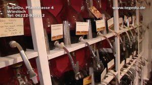 TeGeDu Whisky Tasting Wiesloch Tee Gewürze Essig Liköre Geschenkartikel Parrstrasse 4 Eric Schleich