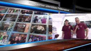 WERBEVIDEOPRODUKTION WIR SIND FÜR SIE DA TVüberregional ist eine Videoproduktion mit einer Onlinezeitung undeinem Internetfernsehen.