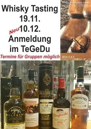 TeGeDu Whisky Tasting Wiesloch Tee Gewürze Essig Liköre Geschenkartikel Pfarrstrasse 4 Eric Schleich
