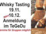 Wiesloch – TeGeDu – Whiskytasting 19.11 und 10.12.2016 Pfarrstrasse 4 – Eric Schleich – TeGeDu