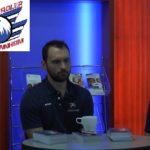 Adler Mannheim Eishockey-Mannschaft zu Gast bei der Jugend in der VR Bank Mannheim