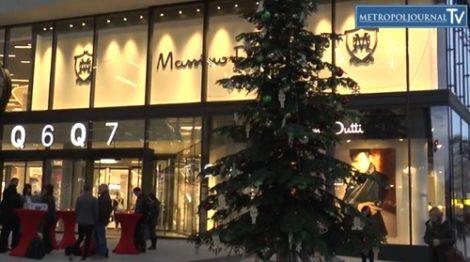Diringer und Scheidel lässt Einkaufspassage erleuchten – Mannheim Q7 – Q6