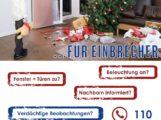 Hinweis der Polizei – Vorsicht in der dunklen Jahreszeit – Steigende Einbruchszahlen zwischen Weihnachten und Neujahr
