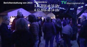 Maschenberg - Weihnachtsmarkt bei der Bäckerei Leyer 2016 am 3.12 und 4.12.2016