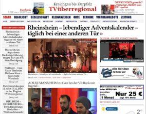 Rheinsheim – lebendiger Adventskalender – täglich bei einer anderen Tür