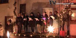 Rheinsheim - lebendiger Adventskalender - täglich bei einer anderen Tür