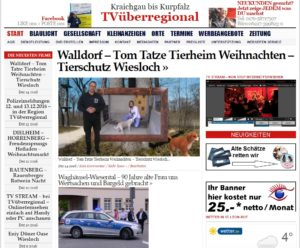 Walldorf - Tom Tatze Tierheim Weihnachten - Tierschutz Wiesloch walldorf-tom-tatze-tierheim-weihnachten-tierschutz-wiesloch-2016-oliver-doell-tvueberregional-tom-tatze-tv