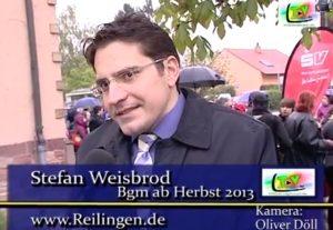 Stefan Weisbrod, Bürgermeister Gemeindeverwaltung Reilingen, Hockenheimer Str. 1-3, 68799 Reilingen, Tel. 06205/952-206, Fax. 06205/952-210,