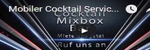 Cocktail Mix Box Bar - mobiler Cocktail Service mit Team auch gratis buchen wenn Gäste Getränke bezahlen