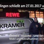 Reilinger 2. Nachtumzug Filmproduktion wird unterstützt durch HEIZUNG SANITÄR KRÄMER REILINGEN