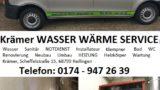 REILINGEN – Krämer WASSER WÄRME SERVICE – mit Krämer bleibt´s wärmer