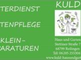 Reilinger 2. Nachtumzug Filmproduktion wird unterstützt durch KULD – Haus und Garten