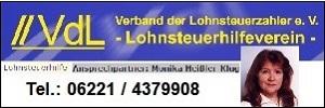 Lohnsteuer Hilfe VDL Lohnsteuerhilfeverein Heissler Klug verband der lohnsteuerhilfe e.V. Heidelberg