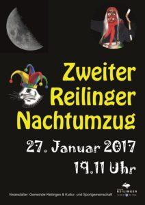 Gemeinde Reilingen Presseinformation Nr. 2/2017, Reilinger NACHTUMZUG - ich bin dabei