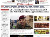 US-General in Bremen: Panzer aus den USA sind Antwort auf offene Aggression Russlands – TV Beitrag im Hafen