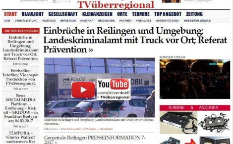 Einbrüche in Reilingen und Umgebung; Landeskriminalamt mit Truck vor Ort; Referat Prävention